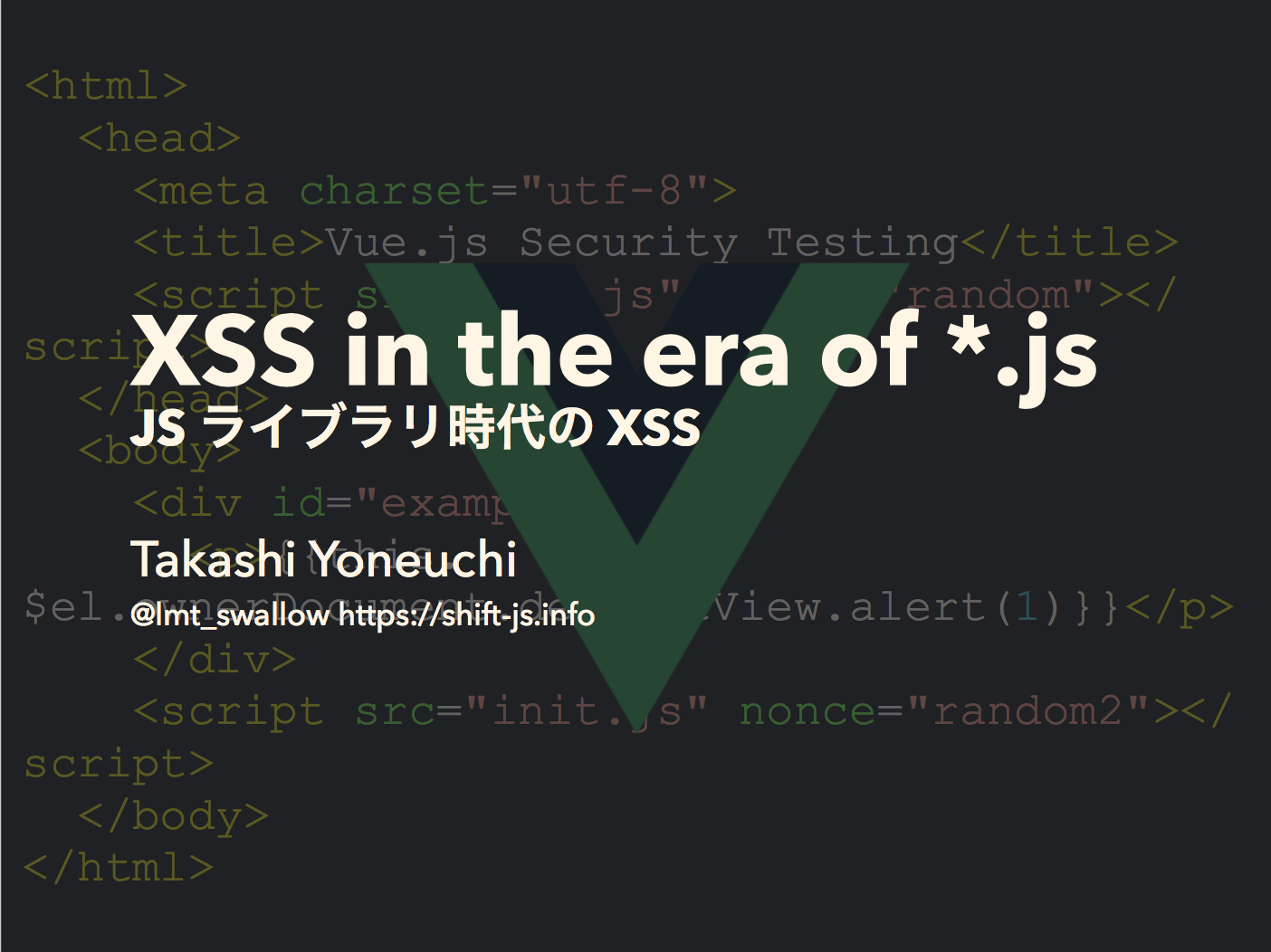XSS in the era of *.js